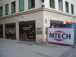 Entkernung Puma Shop München