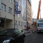 Abbruch Hotel Max München