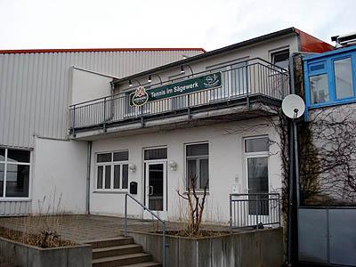 Abbruch Tennishalle Schrobenhausen