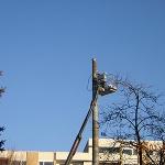 Demontage Antenne - Hainbuchenstr. 25 in München